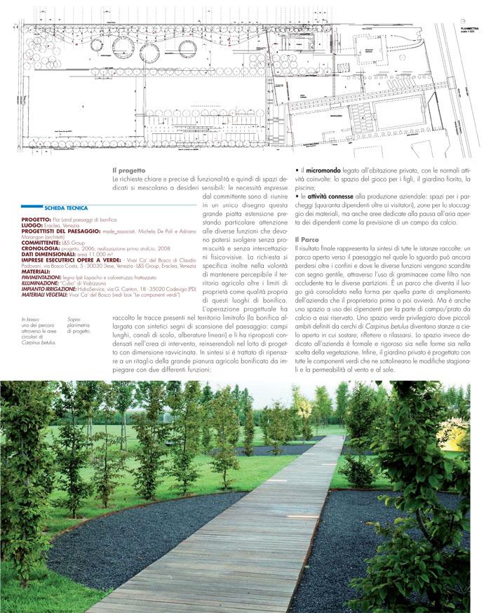Paesaggio &; bonifica, in architettura del paesaggio n.23, ottobre