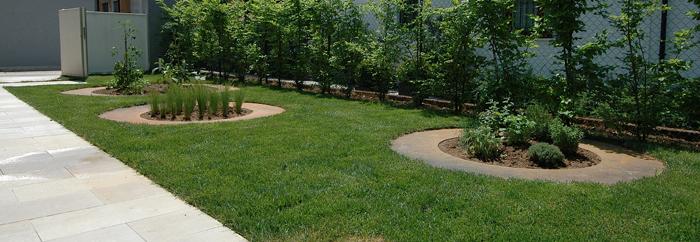 Giardino privato made associati - Progetto giardino privato ...