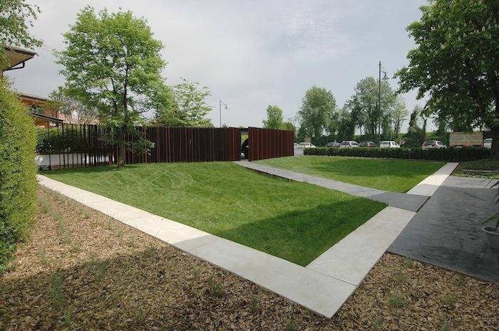 Giardino privato treviso made associati - Disegna il tuo giardino ...