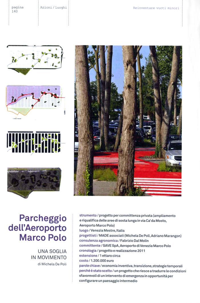 urban beauty parcheggio marco polo made associati. Black Bedroom Furniture Sets. Home Design Ideas